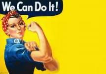 Rosie The Riveter 5K registration logo