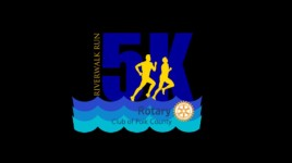Rotary Riverwalk 5K Run registration logo
