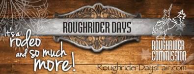 Roughrider Days Rodeo registration logo