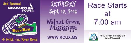 ROUX RUN registration logo