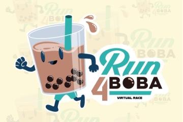 Run 4 Boba registration logo