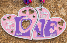 Run 4 Love 5K and 10K-Clearance from 2018 registration logo