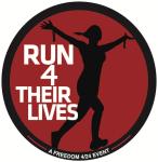Run 4 Their Lives Virtual 5K registration logo