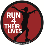 Run 4 Their Lives Virtual 5K registration logo