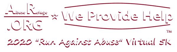 Run Against Abuse registration logo