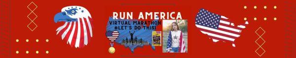 Run America Virtual Race registration logo