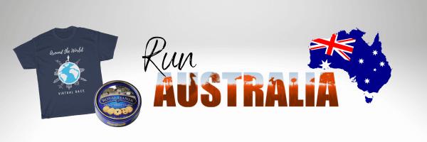 Run Australia Virtual Run 2021 registration logo