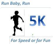 Run Baby, Run 5K registration logo