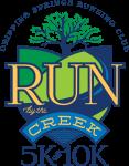 Run by the Creek registration logo
