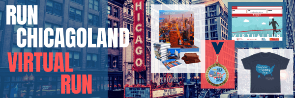 Run Chicagoland 2021 Virtual Run registration logo