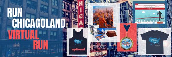 Run Chicagoland Virtual Marathon registration logo