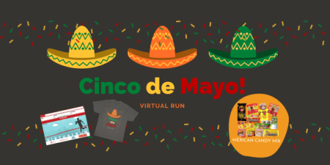 Run Cinco De Mayo Virtual Race registration logo