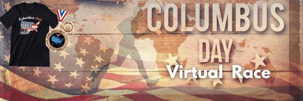 Run Columbus Day Virtual Race registration logo