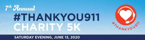 Run For 9-1-1 Charity 5K registration logo