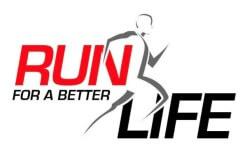 Run For A Better Life 5K registration logo