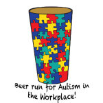 Run for Autism in the Workplace registration logo
