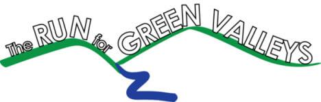 Run for Green Valleys registration logo