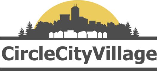 Circle City Village's Run for Homes 5k & 10 mile registration logo