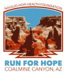 Run for Hope 10K - Coalmine Canyon registration logo