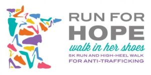 Run for Hope / Walk in Her Shoes registration logo