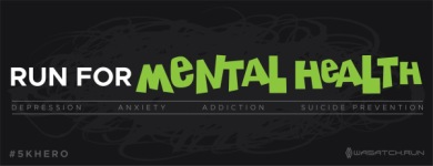 Run For Mental Health - Salem Hills High School registration logo