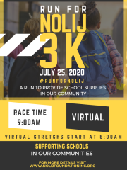 Run For NOLIJ registration logo