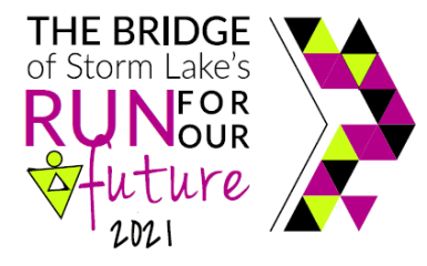 Run For Our Future registration logo