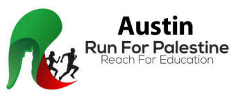 Run for Palestine Reach for Education Austin, TX registration logo