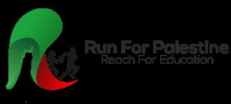 Run for Palestine Reach for Education Charlotte, NC registration logo