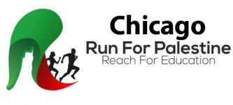 Run for Palestine Reach for Education Chicago, IL registration logo