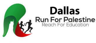 Run for Palestine Reach for Education Dallas, TX registration logo