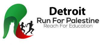 Run for Palestine Reach for Education Detroit, MI registration logo