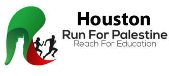Run for Palestine Reach for Education Houston, TX registration logo