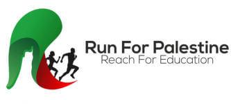 Run for Palestine Reach for Education Los Angeles, CA registration logo