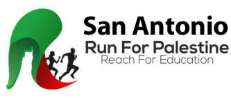 Run for Palestine Reach for Education San Antonio, TX registration logo