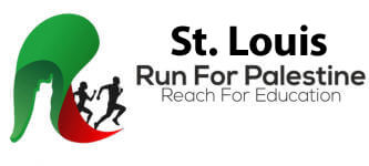 Run for Palestine Reach for Education St. Louis, MO registration logo