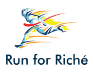 Run for Riche registration logo