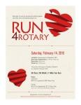 Run for Rotary registration logo