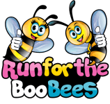 Run for the BooBees Remote Challenge registration logo