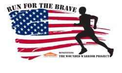 Run for the Brave 5k registration logo