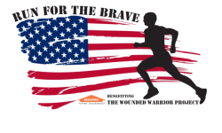 Run for the Brave 5k registration logo