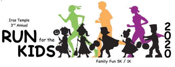 Run for the Kids registration logo