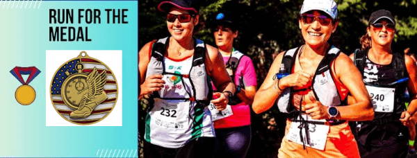 Run for the Medal Virtual Race registration logo