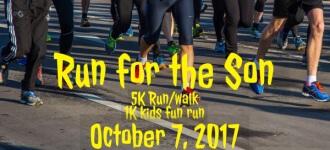 Run for the Son registration logo