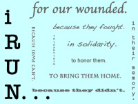 Run For The Wounded registration logo