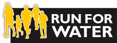 Run for Water registration logo