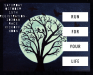 Run for your Life registration logo