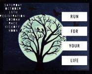 Run for your Life registration logo