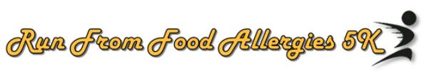 Run From Food Allergies registration logo