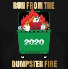 Run From The Dumpster Fire registration logo